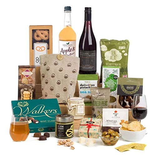 Hay Hampers Sharing Favourites with Wine in Hamper Gift Box - FREE UK Delivery …