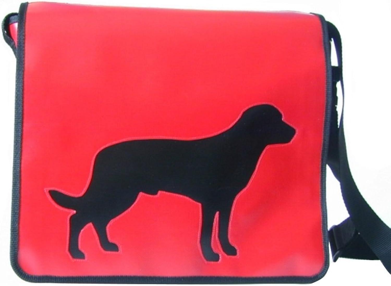 Schultertasche Hundemotiv Schwarz Entlebucher Sennenhund H H H 30, B 32, T 11 B004S65XVI  Bekannt für seine hervorragende Qualität 480934
