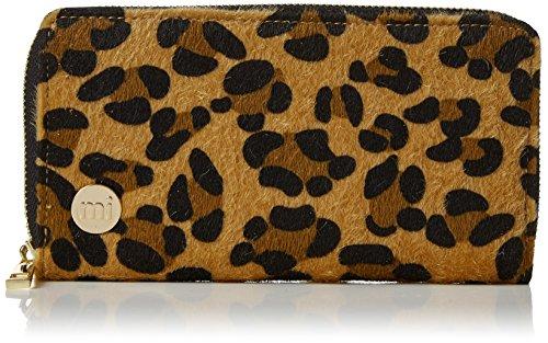 Mi-Pac Gold Zip Purse Monedero, 20 cm, litros, Leopard PTan