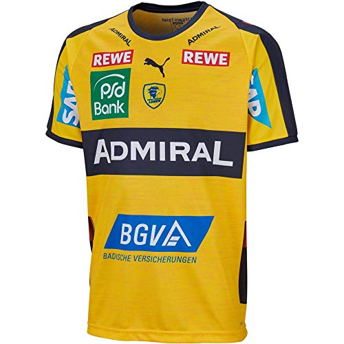 PUMA Herren Handballtrikot RNL Home Shirt Kurzarm gelb (31) M
