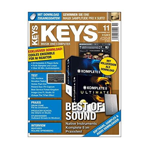 Keys 11 2011 - Native Instruments Komplete 8 - NI Reaktor Ensemble als Download - Personal Samples - Free Loops - Audiobeispiele