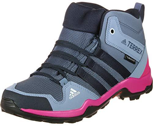 adidas Terrex Ax2R Mid CP K, Botas de Senderismo Niños Unisex niño,...