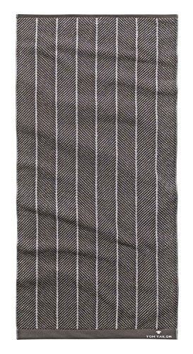 Tom Tailor Handtuch Frottee 50x100 cm anthrazit
