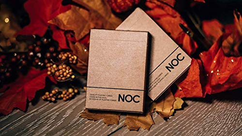 HOPC Carte Noc on Wood Brown Playing Cards