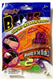 GOOGLY BANDS WONDERS OF THE WORLD SHAPED RUBBER BANDS 12 Collectible Bands Package