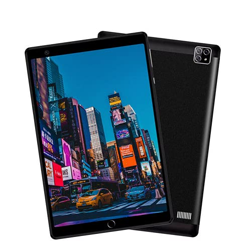 """1G RAM + 16G ROM Android Tablet PC 8"""" Dual SIM 4G-LTE Wireless WiFi Phablet (Black)"""