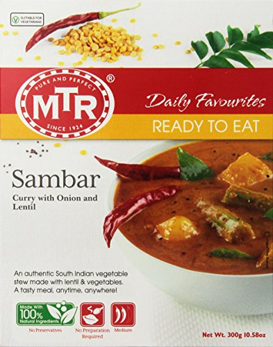 MTR Sambar, 10.58 Ounce Boxes (Pack of 10)
