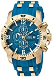 Invicta Men's Pro Diver Quartz Watch with Stainless-Steel Strap, Blue, 26 (Model: 24966)