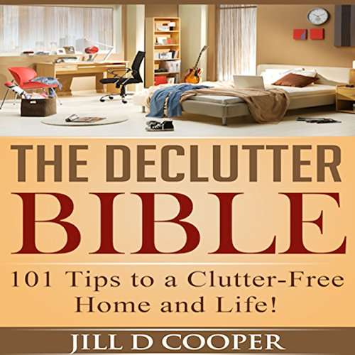 The Declutter Bible audiobook cover art