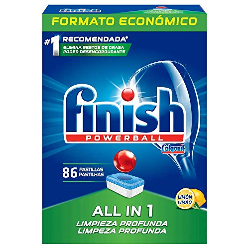 Finish Original Limon Pastillas para Lavavajillas