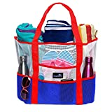 Best Beach Toys For Adults - Dejaroo Mesh Beach Bag – Toy Tote Bag Review