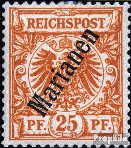 el estilo clásico Prophila Collection Marianas (alemán. Colonia) Colonia) Colonia) 5II B 1900 emisión de sobrecarga (Sellos para los coleccionistas)  costo real