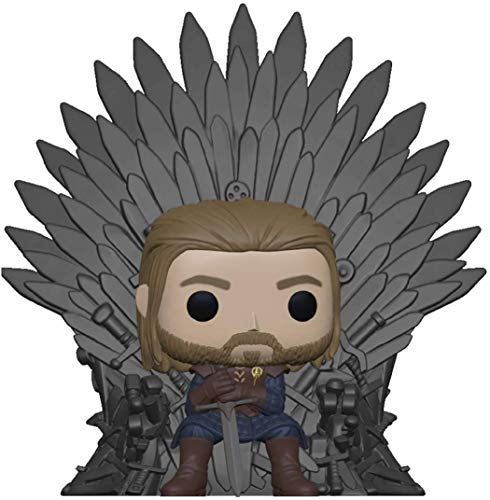 Funko 56791 POP Deluxe: GOT- Ned Stark on Throne