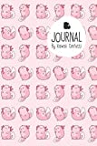 Journal: Cute Pink Axolotl Notebook - Students Kids Teachers - 8.5x11? Large Lined Planner or Diary for School Journaling Writing College Office (Kawaii Stationery Novelty Gifts for Girls & Women)