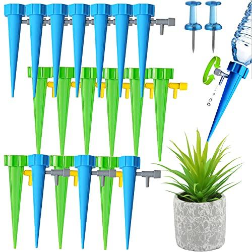QAQHZW Sistema de riego Juego de riego automático de 20 Piezas Ajustable Fácil de regar Plantas de jardín Riego de Flores Plantas de Interior Riego de Plantas Vacaciones