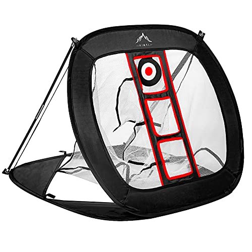 Himal Pop Up Golf Chipping Net Indoor Outdoor Collapsible Golf Accessories Golfing Target Net