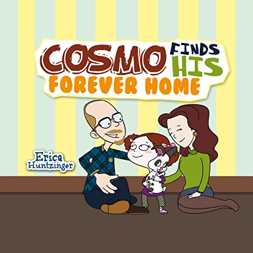 Cosmo Finds His Forever Home audiobook cover art