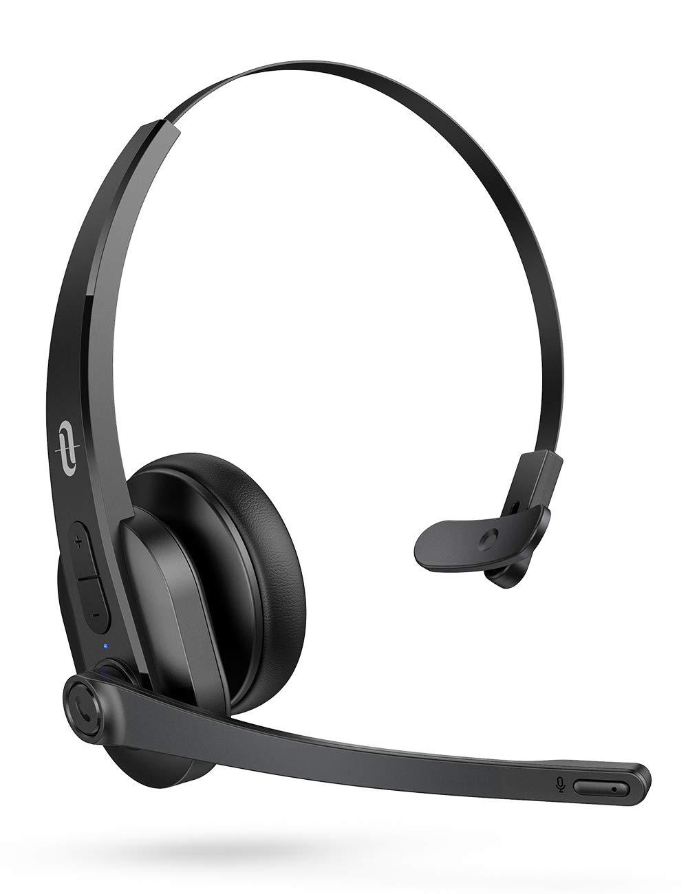 TaoTronics Bluetooth Microphone Cancelling Headphones