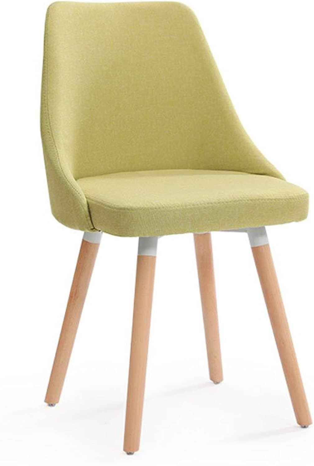 JCRNJSB? Solid wood chair fashion Northern Europe Backrest Dining chair Household stool Modern minimalist Cloth Desk and chair restaurant Removable round Short leg sofa stool Wooden benc (color    3)