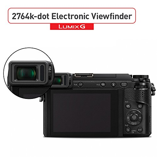 Product Image 7: Panasonic LUMIX GX85 4K Digital Camera, 12-32mm and 45-150mm Lens Bundle, 16 Megapixel Mirrorless Camera Kit, 5 Axis In-Body Dual Image Stabilization, 3-Inch Tilt and Touch LCD, DMC-GX85WK (Black)
