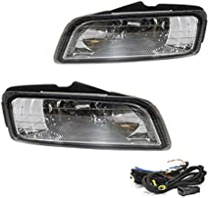 Driving Fog Lights Lamps Replacement for Honda Accord 2006-2007 Sedan JDM Japan style full kit 4 Door Only Rare with H11 12V 55W Halogen Bulbs & Wiring Harness Kit (Clear Lens)