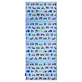 Wildkin Kids Vinyl Nap Mat for Boys & Girls, Measures 48 X 19 Inches Rest Mat for Kids, Ideal for Daycare & Preschool, Perfect for Classroom, Home & Travel Nap Mats, BPA-Free (Trains Planes & Trucks)