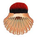 Shell Pro - Brochas de maquillaje en polvo para maquillaje (herramienta de cosméticos)