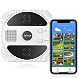 AISIRER Smart Sprinkler Controller, Alexa Voice Control Irrigation System, Watering Timing Weather Intelligence WiFi Sprinkler Controller, 8 Zones Simultaneously Control