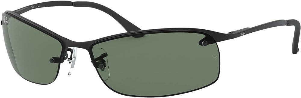 Ray-ban top bar, occhiali da sole da uomo RB3183A