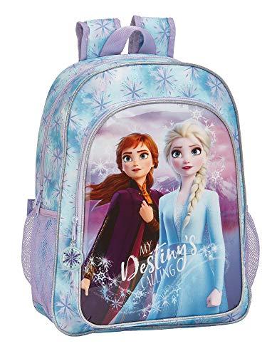 Frozen II Mochila Grande Adaptable a Carro, Multicolor, Única