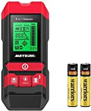Stud Finder Wall Scanner 5 in 1 Meterk Electronic Center Finding Stud Detector with LCD Display/Sound Warning for Wood Stud/Metal/Live AC Wire/Moisture Detection