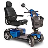 Pride Victory 10 LX Mobility Scooter with CTS suspension - Blue