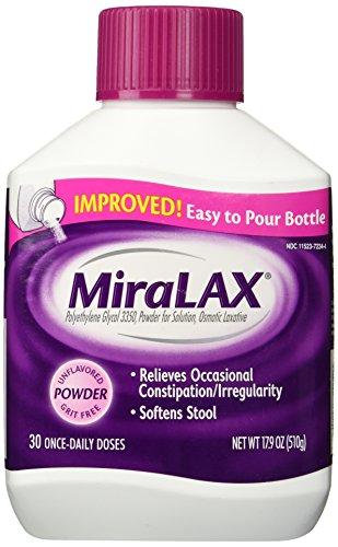 Miralax Laxative Powder -- 17.9 oz