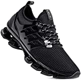 Aszeller Mens Athletic Walking Blade Running Tennis Shoes Fashion Sneakers(Black,11)