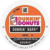 Dunkin' Dark Roast Coffee, 60 K Cups for Keurig Coffee Makers