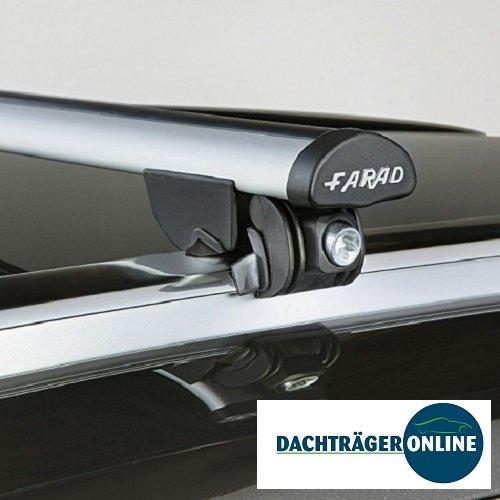 Farad Baca portaequipajes para Opel Zafira 2005 hasta 2007 con rieles de techo integrados
