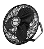 Air King 9518 18-Inch Industrial Grade Wall Mount Fan, 1/6-Horsepower,Black