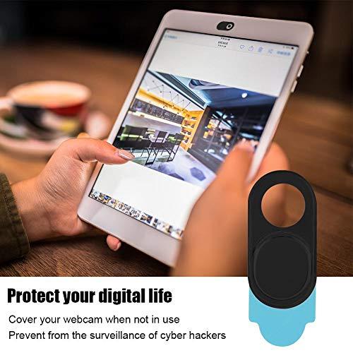 Kafuty Webcam Cover 3pcs Ultra Thin Metal Objektivdeckel Schutzhülle Schutz Datenschutz Sicherheit Geeignet für Smartphones Tablets Desktops Laptops(schwarz)