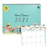 Boxclever Press Home Planner. Large Family Calendar 2021/2022 runs Sept'21 - Dec'22. Spacious Wall Calendar 2021 2022 to Manage Busy Families. 2021 2022 Calendar, Monthly Planner with Lists & Stickers