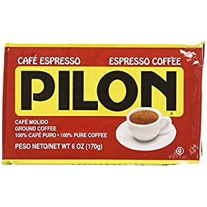 Cafe Pilon 10 PACK Cuban Espresso Ground Coffee 10 x 6 oz