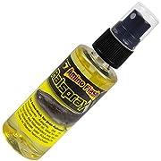 Lockstoff von FTM zum Aalangeln verleiht dem Köder einen zusätzlichen Lockeffekt sehr gut für Würmer, Madenbündel & Köderfische Sprühflasche für einen einfachen & schnellen Gebrauch Inhalt: 50ml Lockstoff