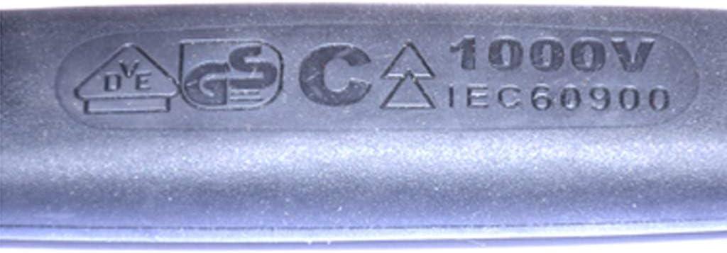 Uiversal Einmaulschl/üssel Isolierter Maulschl/üssel f/ür Auto und Industrie rot 10mm