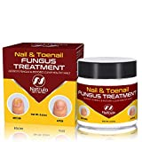 Nail & Toenail Fungus Treatment - Herbal Anti Fungal Cream with Tolnaftate & Essential Oils - Destroys Fungus & Restores Clear Healthy Nails - Effective Proven Formula Made in USA