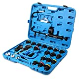 FOUR UNCLES 28 Pieces Radiator Pressure Tester,...