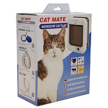 PetMate Cat Mate Chatière à Micro Puce Marron