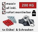 KTC Tec Profi Boxsackhalterung Deckenhalterung Halterung Boxsack Boxsackhalter Halter B2 -