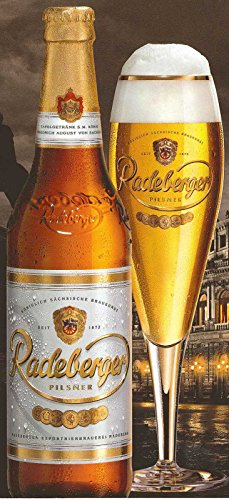 Radeberger Pilsner - 0,5l, inkl. Pfand - 20 Flaschen ohne Kiste