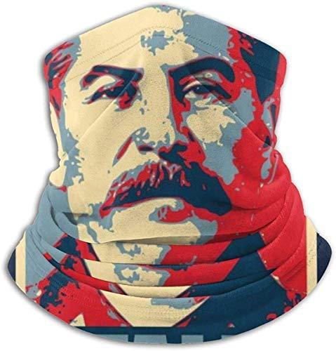 Sword Dynasty Stalin Hope Parodie Gesichtsbedeckung Bandanas für Staub, im Freien, Festivals, Sport