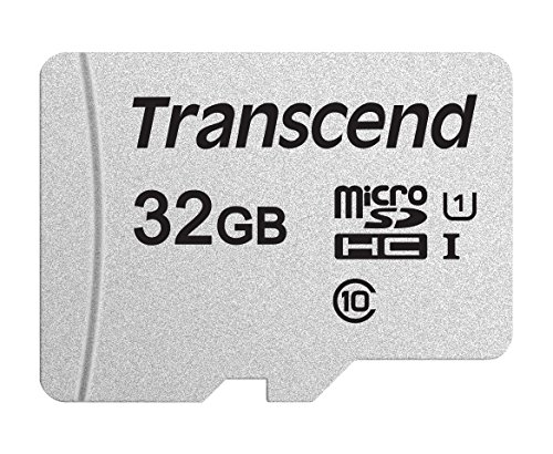 Transcend 32GB MicroSDXC/SDHC 300S Memory Card TS32GUSD300S