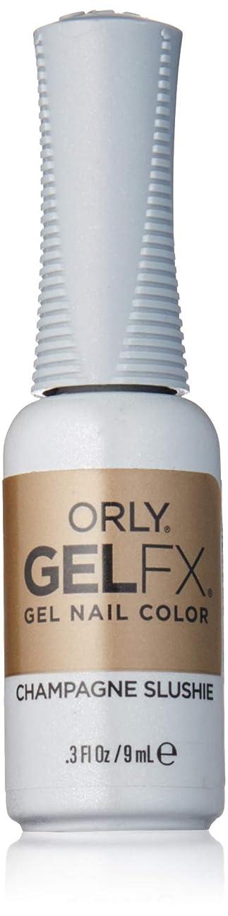 ソブリケットカフェ服を着るOrly Gel FX - Darlings of Defiance Collection - Champagne Slushie - 0.3 oz / 9 mL